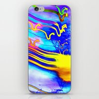 gorillaz iPhone & iPod Skins featuring Jellyfish by Serena Gailey