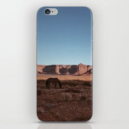 Horse And Moon iPhone Skin