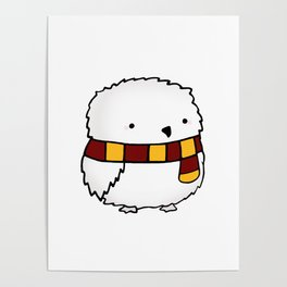 Magical Little Owl Poster