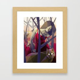 Of the hunt Framed Art Print