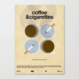Coffee and Cigarettes Canvas Print
