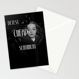 The Sentiment Stationery Cards