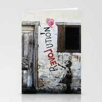 revolution Stationery Cards featuring rEVOLution by Bärdie D/Sign