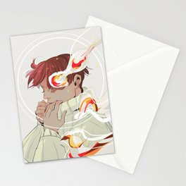 A Calm Flame Stationery Cards