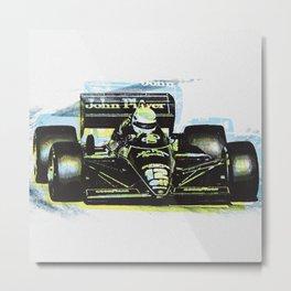 Senna III Metal Print
