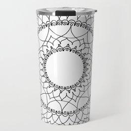 Line Lace Travel Mug