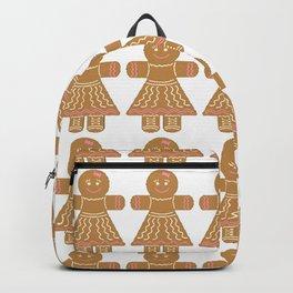 Gingerbread Women Backpack
