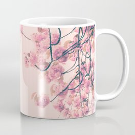 Parris in pink, Eiffel Tower and Cherrie Blossoms Coffee Mug
