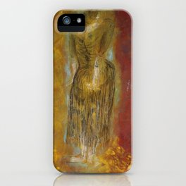 woman【Japanese painting】 iPhone Case