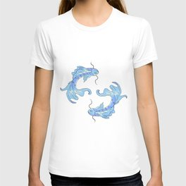 Two koi fish T-shirt