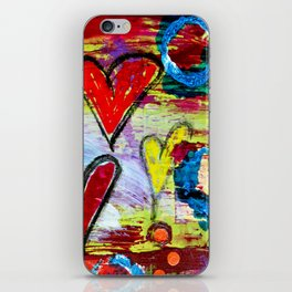 Love and Laughter iPhone Skin