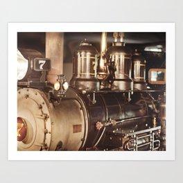 """#7 Locomotive"" by Murray Bolesta! Art Print"