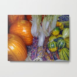 Autumn Harvest Metal Print
