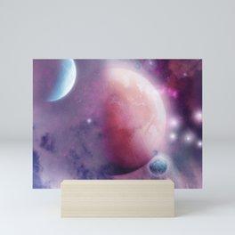 Pink Space Dream Mini Art Print
