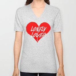 Lonely Lover Unisex V-Neck