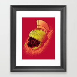 Martian Artifact Framed Art Print