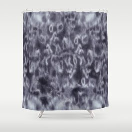 Seal Print Shower Curtain