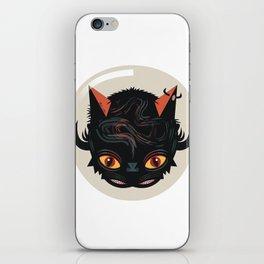Devil cat iPhone Skin