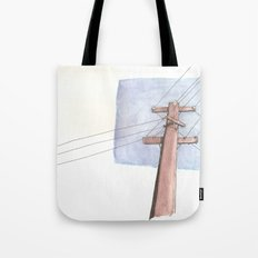 In a Network of Lines that Intersect Tote Bag