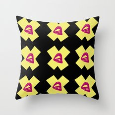 Kiss X Throw Pillow