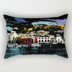 Ibiza Town Rectangular Pillow