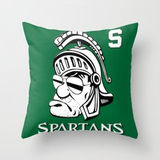 The Spartans Throw Pillow