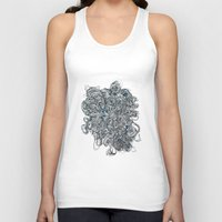 tangled Tank Tops featuring Tangled  by Natalie Schnitter
