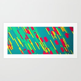 Rectangles - Abstract Art Print