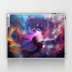 Unicorns belong in space Laptop & iPad Skin
