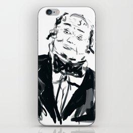 A very jolly waiter!! iPhone Skin