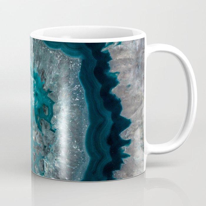 Earth treasures - Blue Agate Coffee Mug