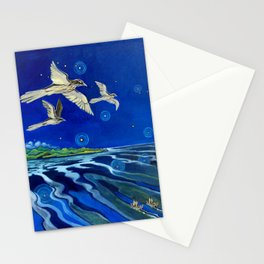 Long-Tailed Cuckoo & The Explorers Stationery Cards