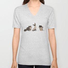 Cats Cats Cats Unisex V-Neck