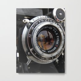 Captured Metal Print