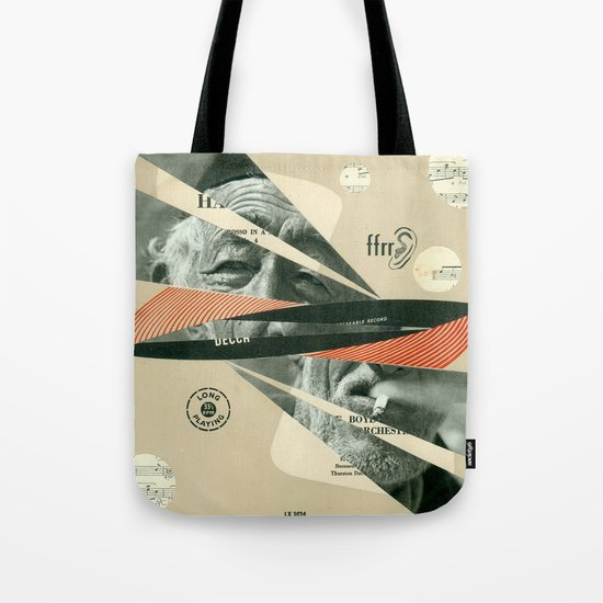 Smoke Symphony Tote Bag