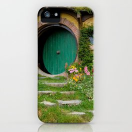 Green Magical Home, New Zealand iPhone Case