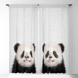 Panda Bear - Colorful Blackout Curtain