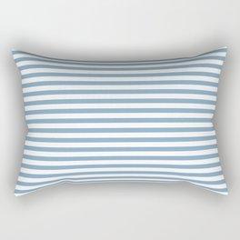 Chambray striped pattern Rectangular Pillow