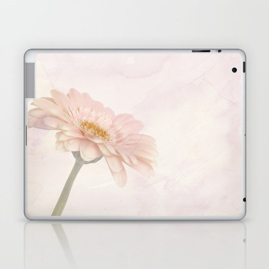Pink Gerbera Laptop & iPad Skin