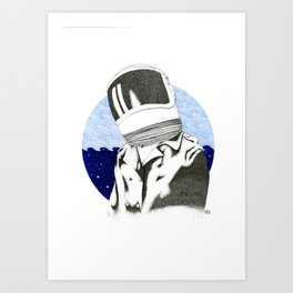 Starsailor Art Print