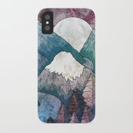 A cold river canyon iPhone Case