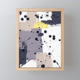 Purple Mattress Framed Mini Art Print