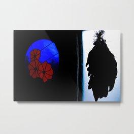 Windows & Shadows Metal Print
