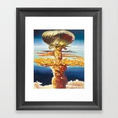 Jiffy Pop Framed Art Print