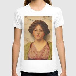 "John William Godward ""Untitled (Classical Beauty)"" T-shirt"