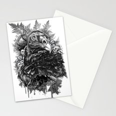 Vulture and Pine Stationery Cards