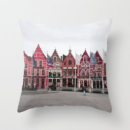Brugges Throw Pillow