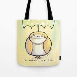 Optimist Owl (retro!) Tote Bag