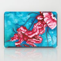 jellyfish iPad Cases featuring Jellyfish by missfortunetattoo