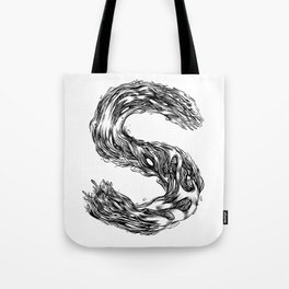 The Illustrated S Tote Bag